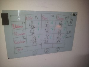 Matematikundervisning i Kastanieskolen - 14-11-2013