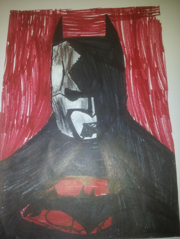 Tegning: Batman