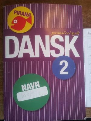 Undervisningsmateriale: Pirana 2 Dansk