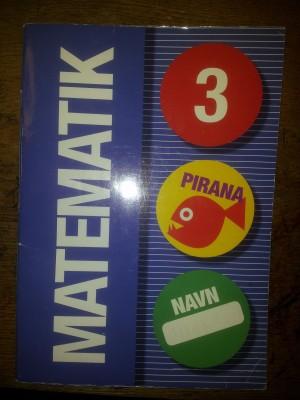 Undervisningsmateriale: Pirana 3 Matematik