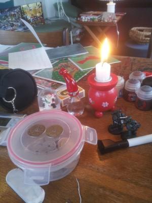 Julehygge mens vi hjemmeunderviser