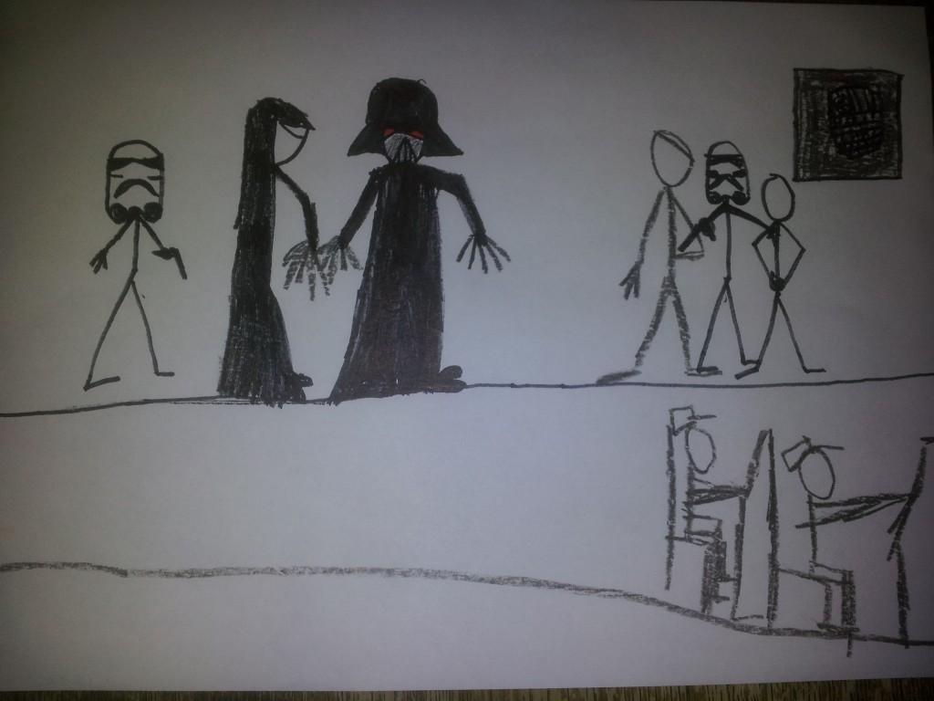 Anakin og Obiwan Kenobi fægter i dødmandssumpen 15