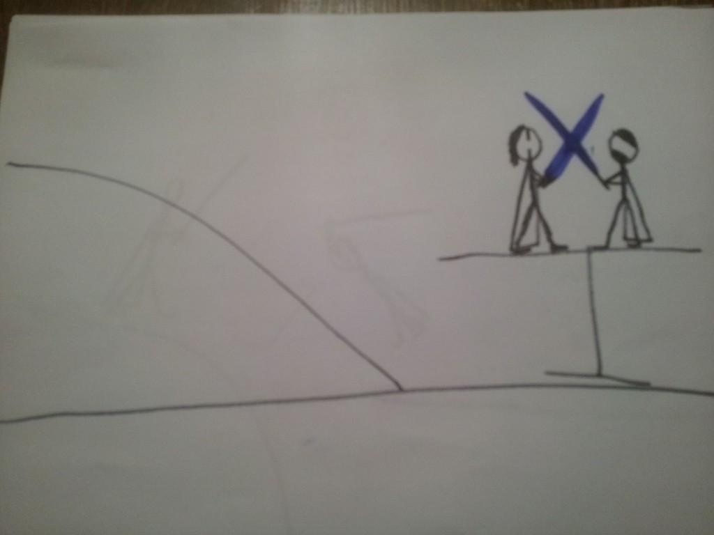 Anakin og Obiwan Kenobi fægter i dødmandssumpen 4