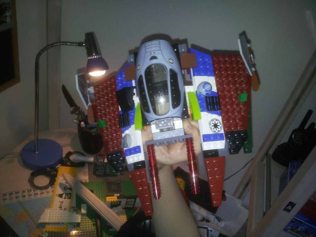 Lego Star Wars Obi Wan Kenobis-Starfighter 1