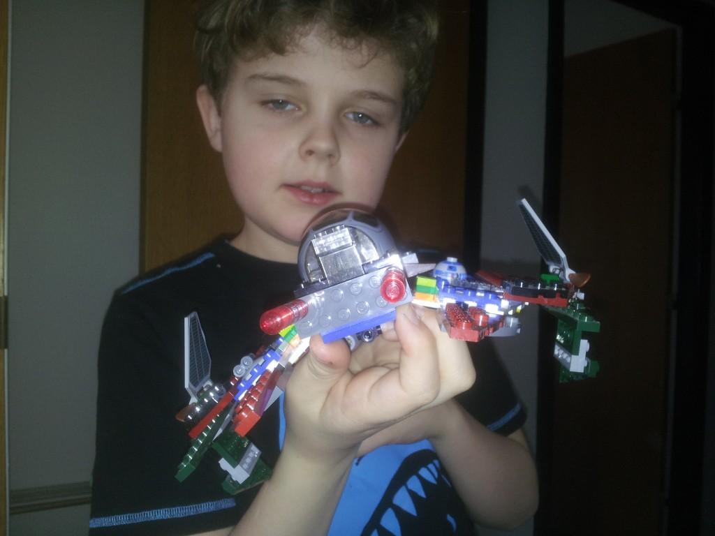 Lego Star Wars Obi Wan Kenobis-Starfighter 4