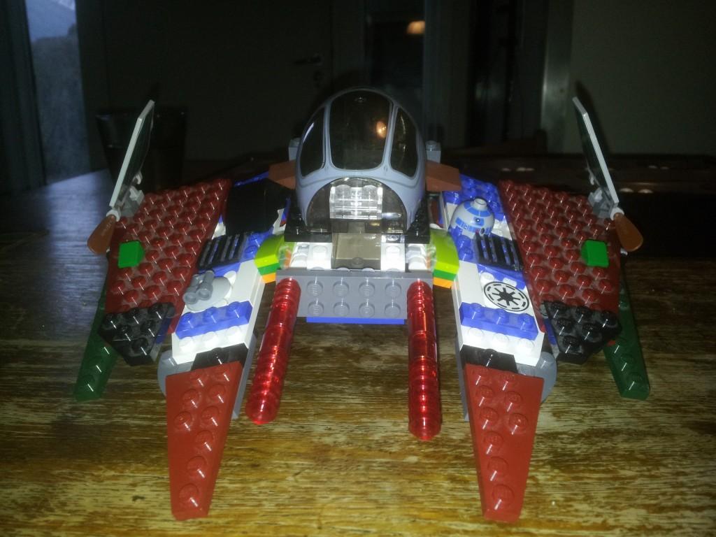 Lego Star Wars Obi Wan Kenobis-Starfighter 6