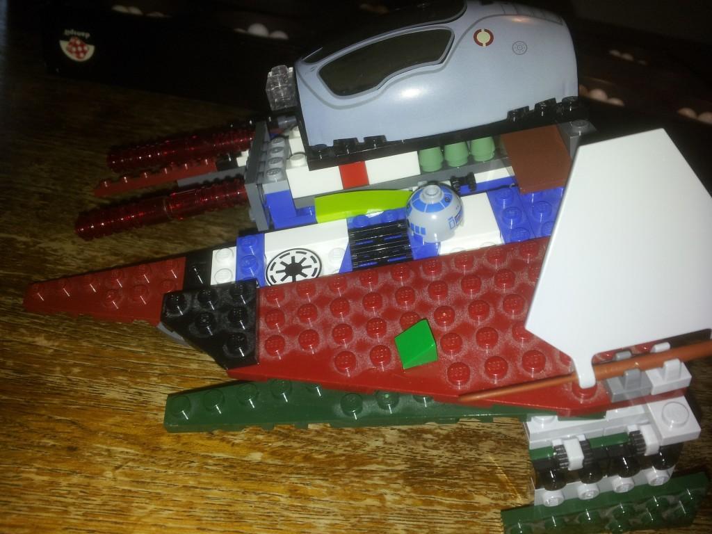 Lego Star Wars Obi Wan Kenobis-Starfighter 7