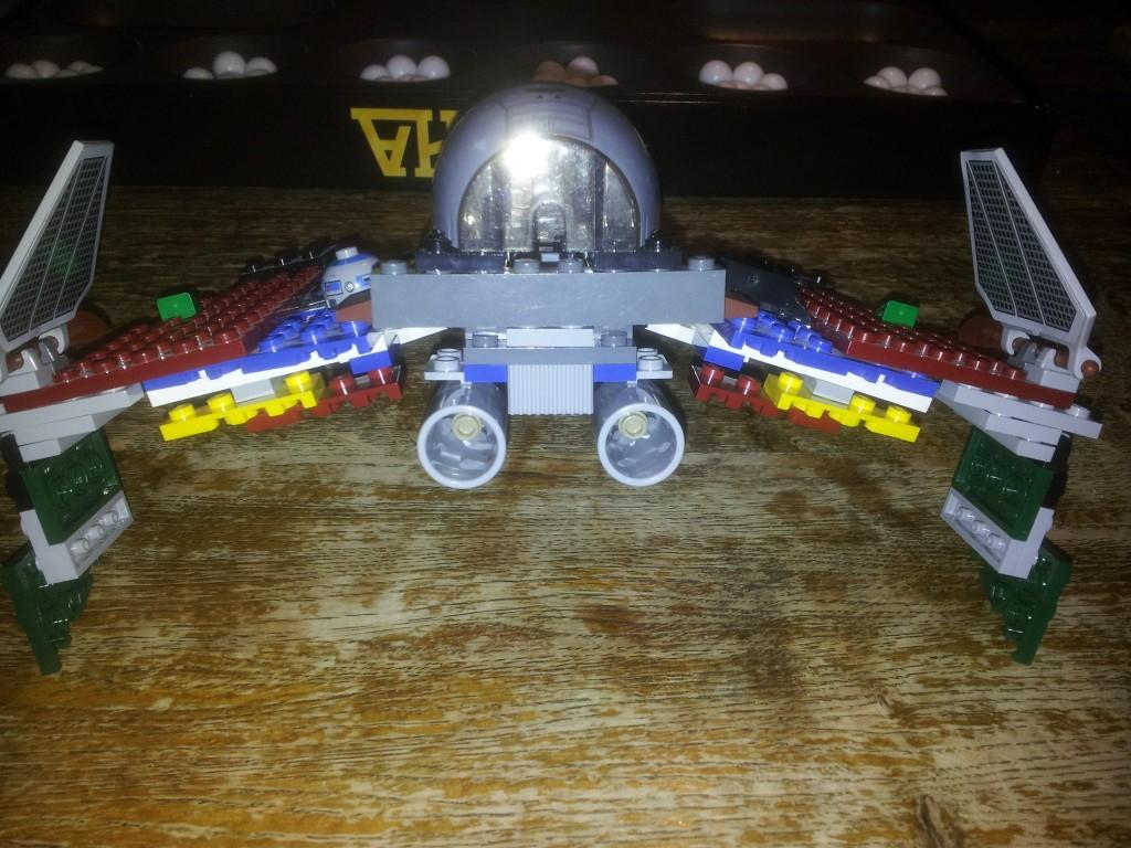 Lego Star Wars Obi Wan Kenobis-Starfighter 8