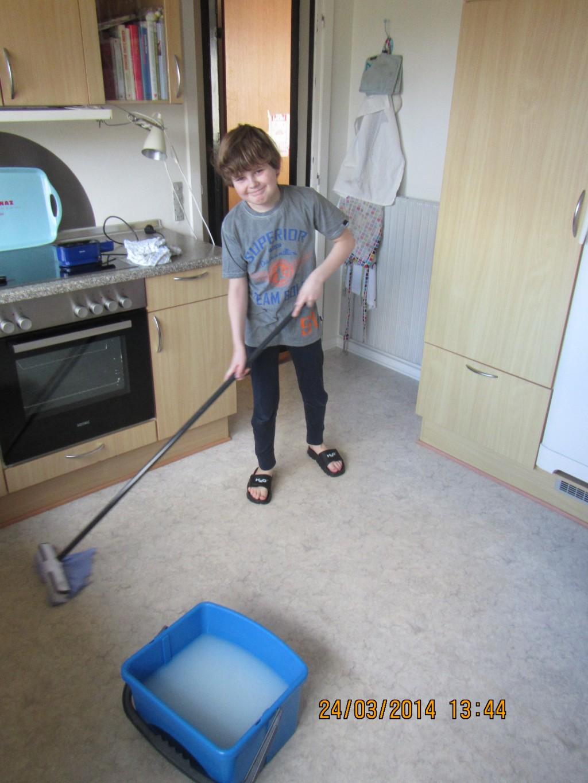 Martin vasker gulv 1