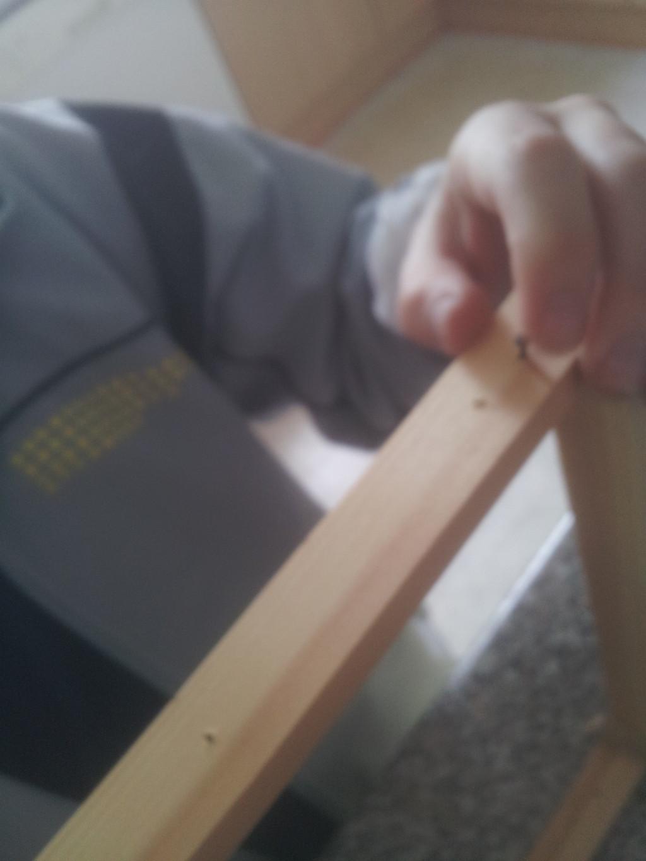 17. Martin sætter tråd i bitavler