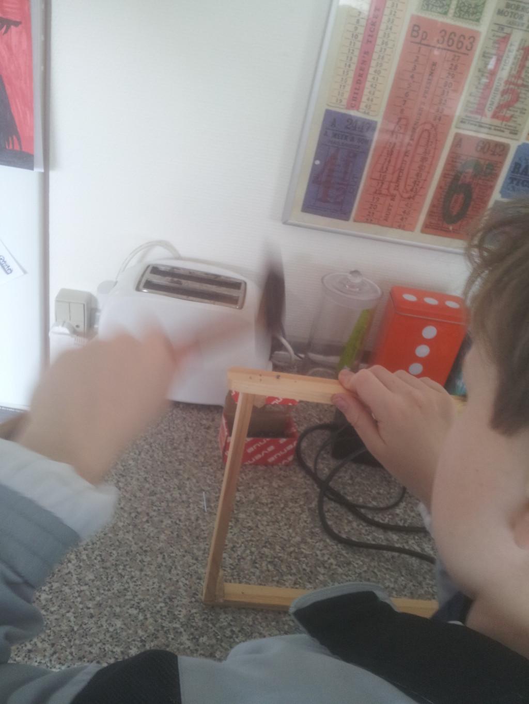 18. Martin sætter tråd i bitavler