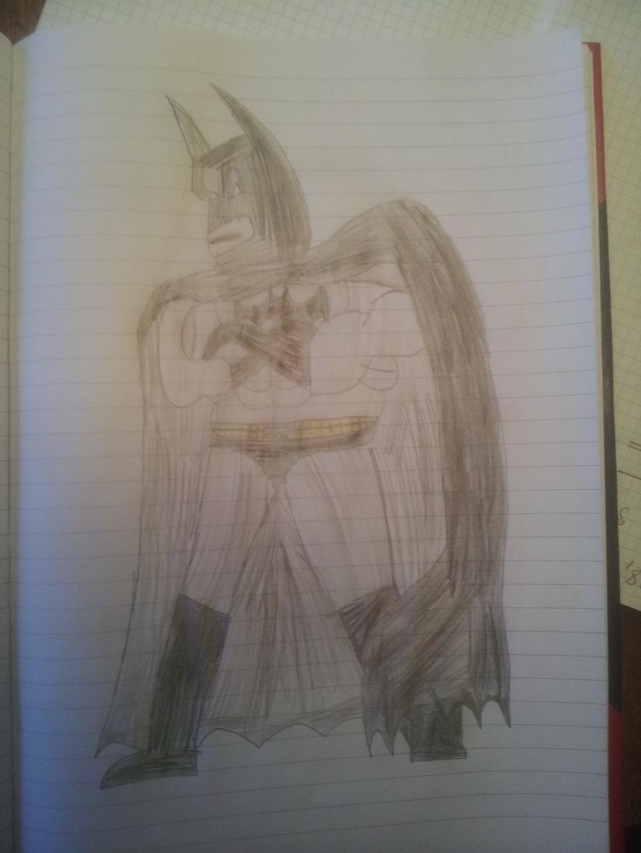 Martin tegner Batman