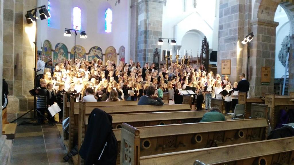 Med Guldager-Børnekirkekor til koncert i Ribe Domkirke - 2