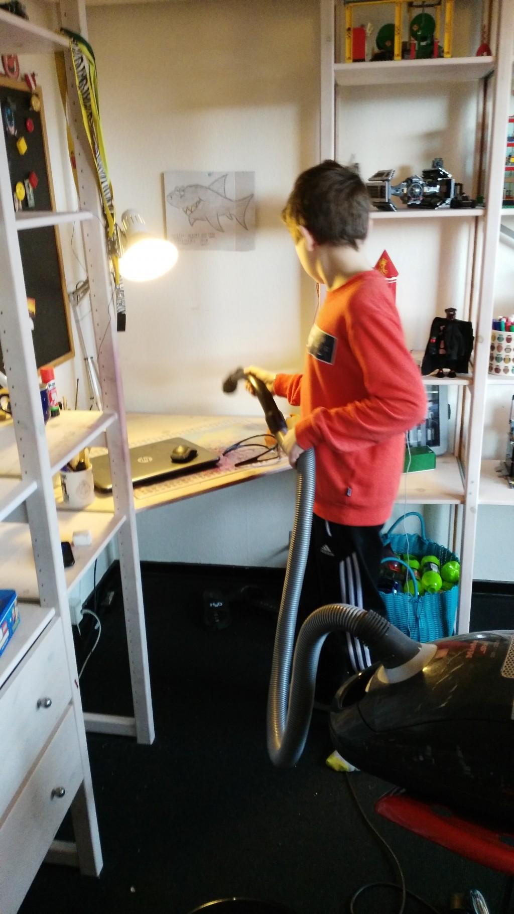 Grundig rengøring på væreslet - 03