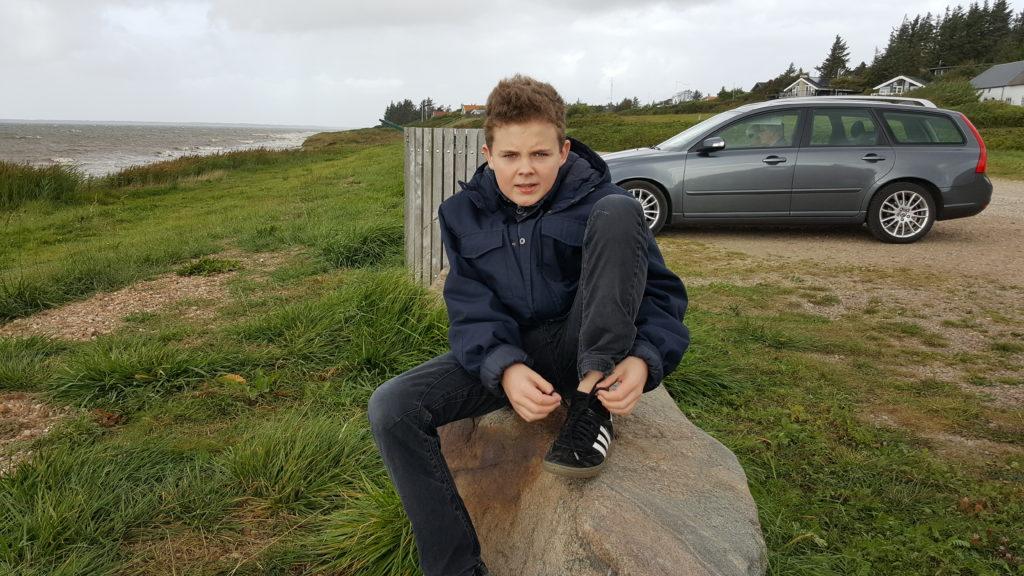 Udflugt og stensamling ved Sjelborg strand (3)
